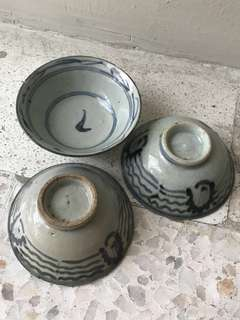 Vintage Small Bowls Collectibles