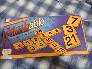 MATHABLE board game