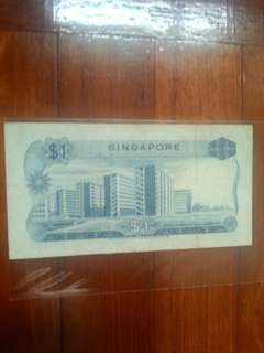 Orchid series, $1 LKS w/o seal note, 1pcs.