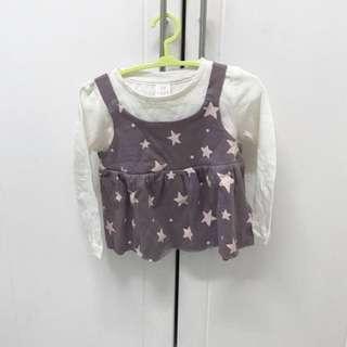NEW authentic Baby Gap Top/Peplum tshirt #letgo4raya