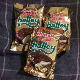 HALLEY 巧克力夾心圓餅