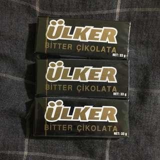 🚚 Ülker Bitter 黑巧克力