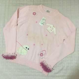 全新諾貝達童裝 粉紅色
