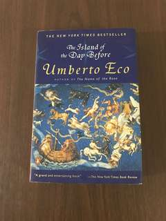 The Island of the Day Before by Umberto Eco (softbound)