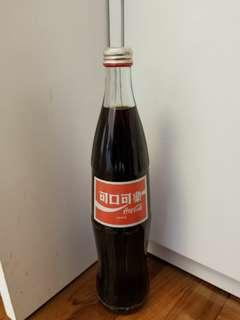 台灣舊版第一代600ml可口可樂瓶,已停產!