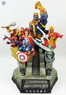 Kotobukiya Infinity Gauntlet fine art statue