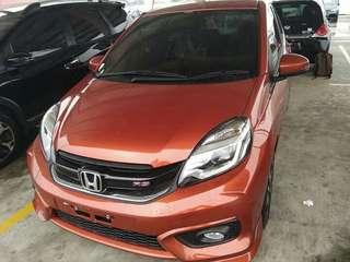 Mobil Honda BRIO RS Dp 25 juta Angsuran 4.307.000