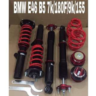 BMW 3 series E46 Hi Lo Bodyshift Adjustable with Frt mounting