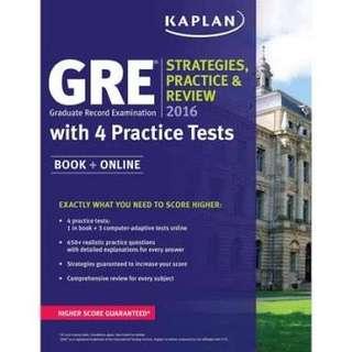GRE Practice 2016
