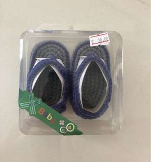 BNIB Baby Knitted Shoes