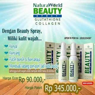 Natura beauty spray 90rb/ btol