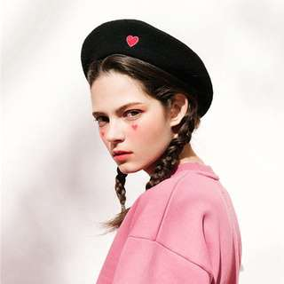 heart beret