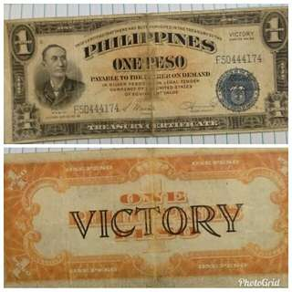 old one peso bill