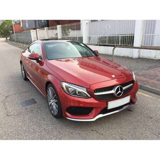MERCEDES-BENZ C300 COUPE AMG EDITION 205 2017