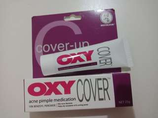 Oxy cover up acne pimple medication