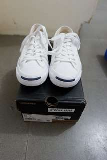 Converse Jack Purcell White Canvas