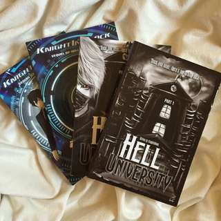 Hell University and Chasing Hell Bundle