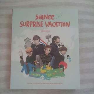 SHINee / SURPRISE VACATION TRAVEL NOTE 01 (韓國進口版)