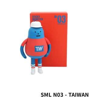 「誠徵」Sticky monster lab SML N03 台灣公仔