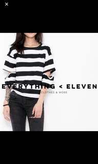 Oversize Stripe T-shirt