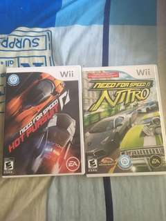 Wii need for speed