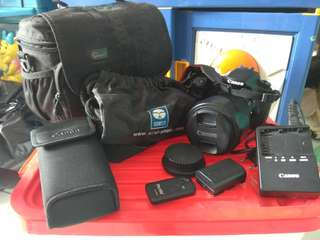 Preloved Canon EOS 60D kit 18-135mm
