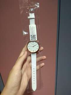 White female quartz watch