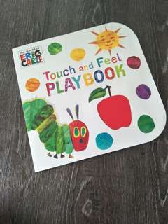 Eric carle Touch and Feel playbook