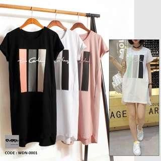 T Shirt Dress WDN-0001