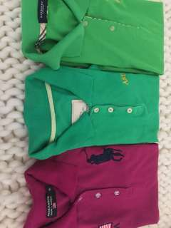 Bundle sale polo shirt