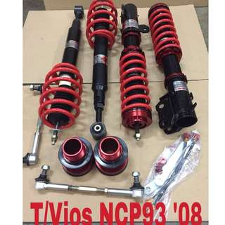 TOYOTA VIOS NCP 93 (2008) Fully HI lo soft hard bodyshift adjustable