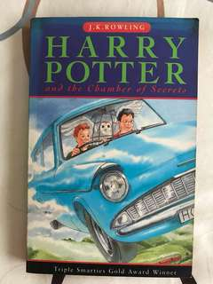 Harry Porter and the Chamber of Secrets by J K Rowling
