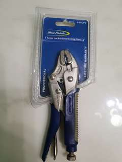 """BN Blue Point 5"""" Curved Jaw with Cutter (Life Time Warranty)"""