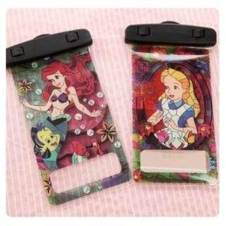 手機防水袋(尺寸5.5寸內都可用) : 美人魚/愛麗絲款