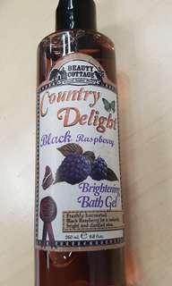 Beauty Cottage Black Raspberry bath gel