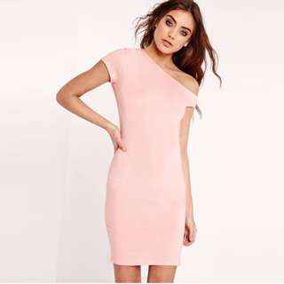 [CLEARANCE SALE] Pink Bodycon Dress