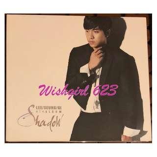 Lee Seung Gi 李昇基-『Shadow』第四張個人專輯CD (韓版)~燦爛的遺產、花遊記、野蠻公主玩婚記
