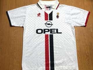 AC Milan Lotto 米蘭 作客波衫 球衣