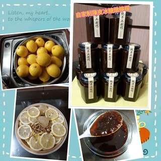 陳皮冰糖燉檸檬