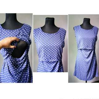 Nursing Dress / Breastfeeding Dress