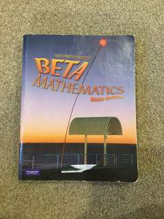 BETA Mathmatics Second Edition