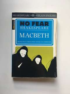 [EVERYTHING MUST GO SALE!] No Fear Shakespeare: Macbeth