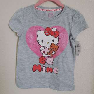 "MAY 2018 : HELLO KITTY ""BE MINE"" TSHIRT FOR BABY GIRL"