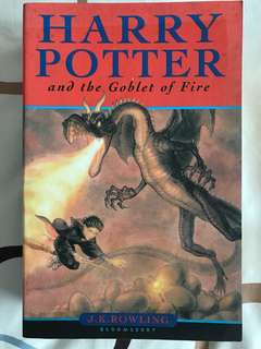 Harry Porter and the Goblet of Fire by J K Rowling
