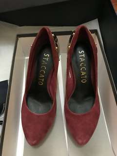 STACCATO wine red High heels