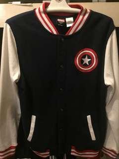 Marvel Captain America Varsity Jacket