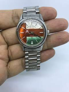 美品 中東阿曼雙刀國徽軍錶 West End military watch with OMAN KHANJAR
