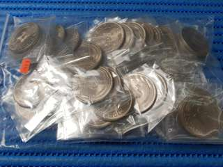 50X 1974 Singapore $1 Stylised Lion Coin ( Lot of 50 Pieces )
