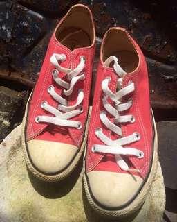 Sepatu Converse X Red not Timberland Adidas