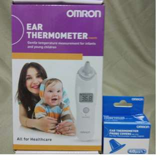 Omron Ear Thermometer & Probe Covers